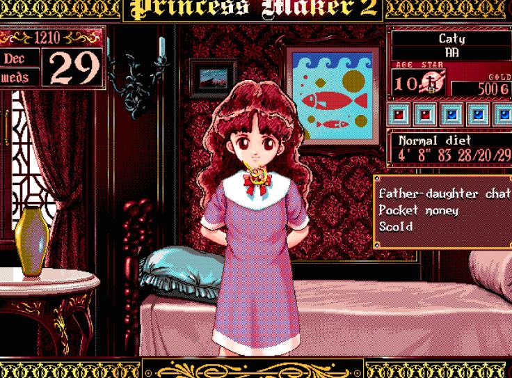 princess maker preguntas