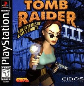 Las aventuras de Lara. Sin hombres. ¿Veis hombres en la portada? ¿Los veis en alguna portada de algún Tomb Raider? EXACTO.